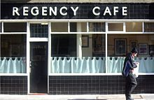 Since 1946 the Regency Café on Regency Street has sold some of the best steak pies and cooked breakfasts in London. A classic greasy spoon!