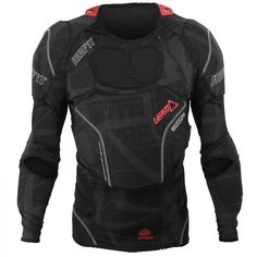 Leatt AirFit Body Protector - Large / X-Large. The AirFit Body Vest is the lightest, thinnest, coolest and best way to protect your upper body, shoulders and elbos. Troy Lee, Online Bike Store, Riding Gear, Body Armor, Motorcycle Outfit, Sport Wear, Sport Bikes, Motocross, Cool Outfits