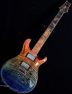 New Paul Reed Smith PRS Private Stock Custom 24 Walking Zombie Guitar! Guitar Diy, Prs Guitar, Cool Guitar, Acoustic Guitar, Guitar Room, Paul Reed Smith, Custom Electric Guitars, Custom Guitars, Guitar Inlay