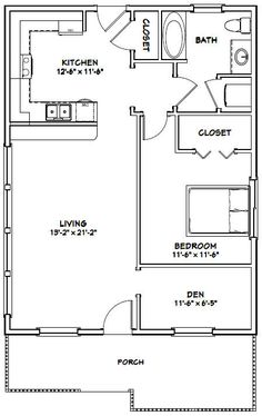 24x30 house 24x30h2e 720 sq ft excellent floor for 24x30 house plans
