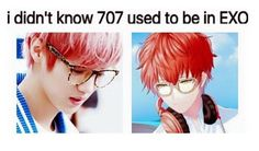 OMG ITS LUHAN!!! WAIT... Used to be in exo..... ok. lemme go cry in a corner. thank chu...