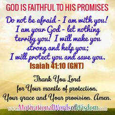 Motivational Words of Wisdom: THANK YOU LORD FOR PROTECTING ME