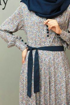 New Ideas For Dress Simple Hijab Beautiful Islamic Fashion, Muslim Fashion, Modest Fashion, Fashion Dresses, Modest Wear, Modest Dresses, Modest Outfits, Simple Hijab, Mode Abaya