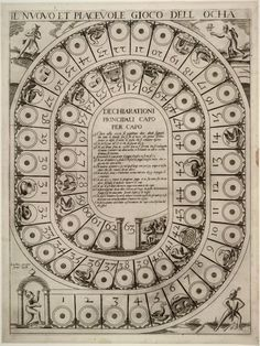 All sizes | Il nuovo et piacevole gioco dell ocha (1598) | Flickr -the royal game of goose