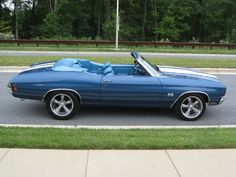 1970 Chevelle SS Colleen, I'm think by our 5th wedding anniversary, you can get me this.