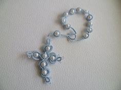 Risultati immagini per rosario a chiacchierino con perle