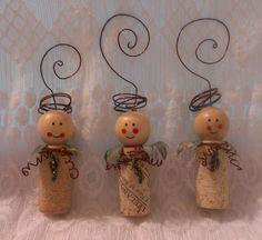 Three Vineyard Angels VA1b by TinkerTerrys on Etsy