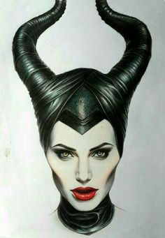 Angelina Jolie as Maleficent Maleficent Art, Sketches, Illustration, Art Drawings, Drawings, Fantasy Art, Maleficent Drawing, Drawing Sketches, Art