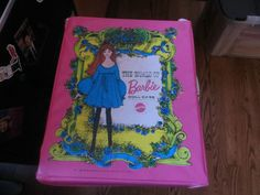 Vintage 60s Pink World of Barbie Case