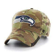 bc007b703 Camo Adjustable Seattle Seahawks Myers MVP Hat