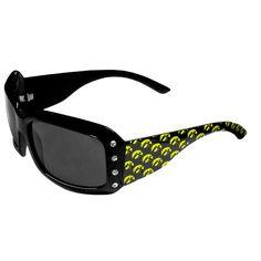 Iowa Hawkeyes NCAA Women's Rhinestone Designer Sunglasses