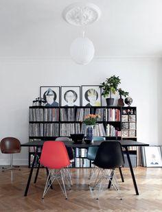 Anne Sofie Kamphøvener & Aske Ebbesen Copenhagen apartment via femina.dk