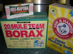 Homemade Laundry Detergent/Stain Remover