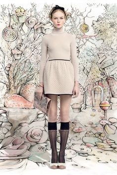 Red Valentino ready to wear fall 2013