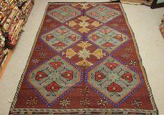 Turkish Vintage Kilim rug 9,8x6,3 feet Area rug Cicim rug Ethnic Kilim Rug Anatolian kilim rug Turkish Kilim Rug Colorful Rugs DD-1515