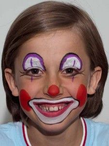 kinderschminken on pinterest clowns clown costumes and face paintings. Black Bedroom Furniture Sets. Home Design Ideas