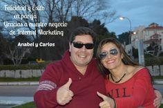 Felicidad y Éxito en pareja gracias a nuestro negocio de Internet Marketing.