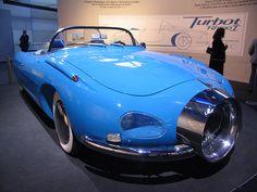 Spirou comics Turbot-1 - Comic car