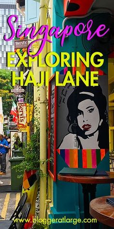 Singapore's Haji Lane and Arab Street is eclectic, filled with delicious Middle Eastern eateries, boutique shops and surrounded by even more shopping in the Bugis area. A really fun place to dine and even stay.   #Singapore #Bugis #shopping