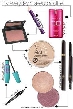 My Everyday Makeup Routine — Pretty Shiny Sparkly