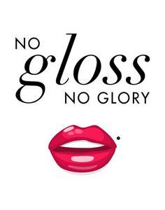 Makeup Print Set - Gloss lipstick eyeliner contour bathroom vanity wall decor art - beauty fashion d Natural Lipstick, Gloss Lipstick, Lipstick Colors, Red Lipsticks, Lip Gloss Quotes, Lips Quotes, Red Lipstick Quotes, Make Up Dupe, Make Up Pro