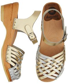 Swedish Sandal Clog by Troentorp from #HannaAndersson.