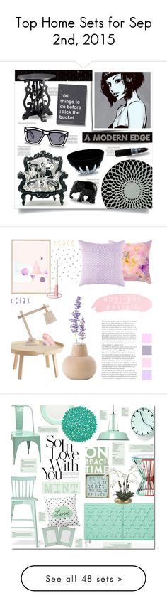 """""""Top Home Sets for Sep 2nd, 2015"""" by polyvore ❤ liked on Polyvore featuring interior, interiors, interior design, home, home decor, interior decorating, Balmain, Ksubi, Sebastian Professional and Gandía Blasco"""