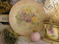 Тарелки ручной работы. Ярмарка Мастеров - ручная работа. Купить декоративная тарелка. Handmade. Декупаж, акриловые краски, акриловый лак