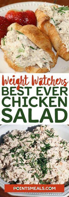 Best Ever Chicken Salad #weight_watchers #chicken #salad #best
