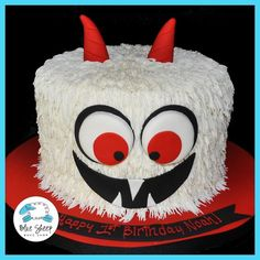 Buttercream Monster Cake – Blue Sheep Bake Shop