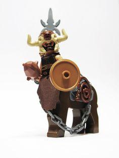 Nessus: Bad-Ass Centaur by Steven Woolfe Lego Custom Minifigures, Lego Animals, Lego Army, Amazing Lego Creations, Lego People, Lego Castle, Lego Minecraft, Lego Design, Satyr