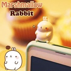 ❤Kawaii Love❤ ~Marshmallow bunny phone dust plug
