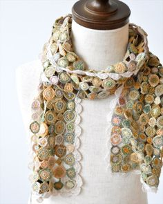 by Sophie Digard - her amazing handmade scarves are impossibly detailed and beautiful