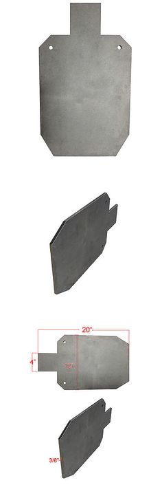 Targets 73978: Titan Ar500 Silhouette Style Steel Plate Shooting Target 20 X12 3 8 Thick -> BUY IT NOW ONLY: $45 on eBay!