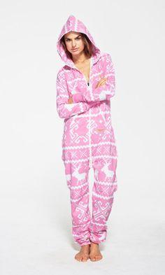Ladies Fleece All In One Piece Pyjamas Jump Sleep Suit Onesie PJs ...