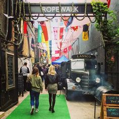 Check out hidden gems like Maltby Street Market. | 16 Things Londoners Want Tourists To Know