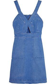 Denim cut out dress, Stella McCartney. Want