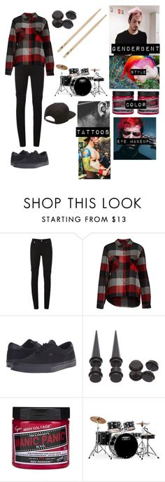 """""""Genderbent Of Josh Dun/Female Version of Josh Dun"""" by potatolover123 ❤ liked on Polyvore featuring interior, interiors, interior design, home, home decor, interior decorating, McQ by Alexander McQueen, ONLY, Vans and Mapex"""