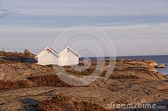Two Small Wooden Houses On The Rocks Stock Photo - Image of child, happy: 49811380 Small Summer House, Summer Houses, Small Wooden House, Wooden Houses, House On The Rock, Winter Scenery, Children Images, Rock Formations, Vintage Looks