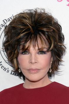 Carole Bayer Sager Photos - Lyricist Carole Bayer Sager attends the 2016 Carousel Of Hope Ball at The Beverly Hilton Hotel on October 2016 in Beverly Hills, California. - 2016 Carousel of Hope Ball - Arrivals Layered Bobs, Layered Hair, Shaggy Short Hair, Short Hair Cuts, Hair Color For Women, Permed Hairstyles, Great Hair, Hair Dos, Cut And Color