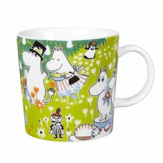 The adorable Tove 100 moomin mug 2014 from Finnish Arabia is a tribute to the famous author and illustrator Tove Jansson. In 2014 the the moomin charachters mother would have turned 100 years and the jubilee mug has its inspiration from Tove Janssons book Moomin Shop, Moomin Mugs, Tove Jansson, Centenario, My Collection, Finland, The Book, Original Artwork, Childhood