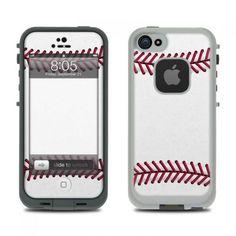 Baseball LifeProof iPhone 5 Skin