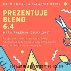 ... bo #kawa musi być palona tylko lokalnie.  #KAFO data palenia: 29 kwiecień 2017 (blend 6.4)