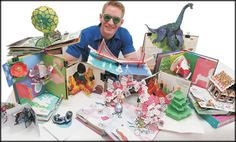 Robert Sabuda's AMAZING pop-up books! for jumpstarting aesthetic thought :)