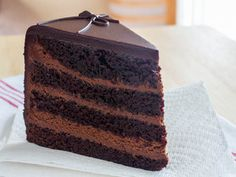 The Dark Knight Cake (Triple Chocolate Layer Cake) | Serious Eats: Recipes - Mobile Beta!""