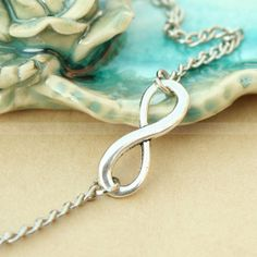 Infinity necklaceeverlasting lover karma necklace gift by Umonster, $3.99