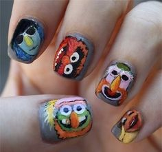 The Muppets Band Nails