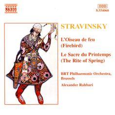 Stravinsky: The Rite of Spring / Firebird - Naxos CD. £6.95