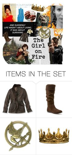 """""""Katniss Everdeen"""" by ninacarrillo ❤ liked on Polyvore featuring art"""