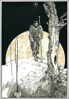 Tannhauser Illustration by Willy Pogany.